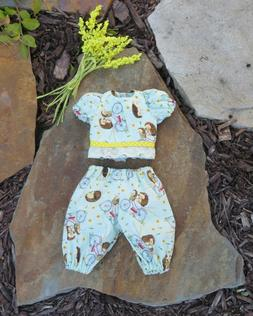 "Handmade Doll Clothes for 12"" - 14"" Baby Dolls - ""Bike Ride"""