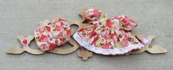 "Handmade Doll Clothes for 14"" - 16"" Baby Dolls - ""Patchwork"