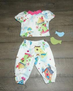 """Handmade Doll Clothes for 16"""" - 18"""" Baby Dolls - """"Fly Free"""""""