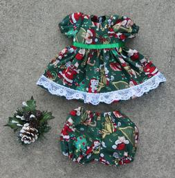 "Handmade Doll Clothes for 16"" - 18"" Baby Dolls - ""Christmas"