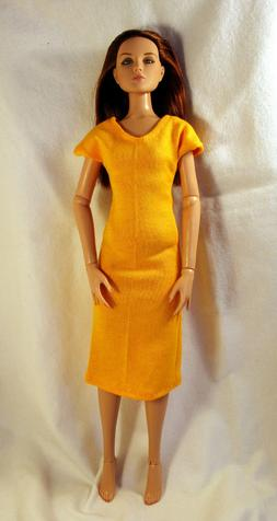 Handmade Doll Clothes For 16 Inch Female Fashion Dolls Solid