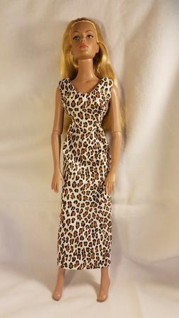 Handmade Doll Clothes For 16 Inch Female Fashion Dolls Leopa