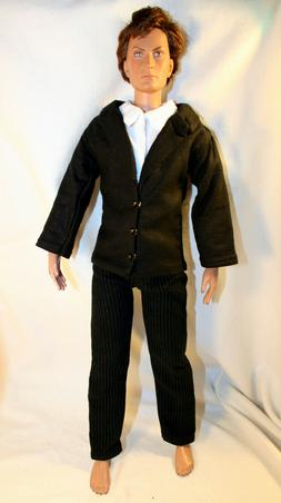 Handmade Doll Clothes For 17 Inch Male Fashion Dolls Pants S