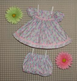 """Handmade Doll Clothes for 18"""" - 20"""" Baby Dolls - """"Pastel Pre"""