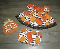 """Handmade Doll Clothes for 18"""" - 20"""" Baby Dolls - """"Pumpkin Pa"""