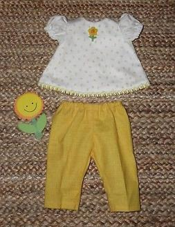 "Handmade Doll Clothes for 18"" - 20"" Baby Dolls - ""Play Date"""
