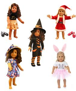 Doll Clothes for 18 in American Girl Doll, Our Generation, A
