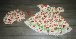 """Handmade Doll Clothes for 23"""" - 24"""" Baby Dolls - """"Fruit Stan"""