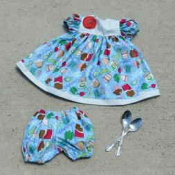 """Handmade Doll Clothes for 23"""" - 24"""" Baby Dolls - """"Cravings"""""""
