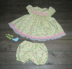 """Handmade Doll Clothes for 23"""" - 24"""" Baby Dolls - """"Hop & Skip"""