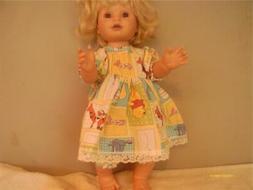 doll clothes handmade 14 dress set winnie