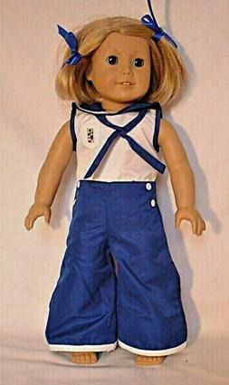 DOLL CLOTHES - KIT PAJAMA OUTFIT  -  fits  AMERICAN GIRL AND