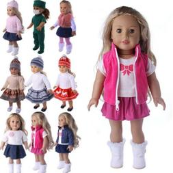 Doll Clothes Lot Dress Dresses For American Girl 18 Inch Dol
