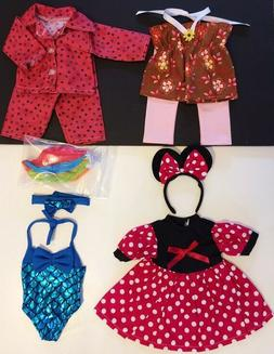 "18"" Doll Clothes LOT fits 18"" American Girl Minnie Mouse Swi"