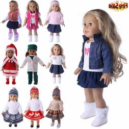 """Doll Clothes Pajames Laceskirt for 18"""" American Girl Our Gen"""