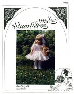 "Sew Adorable Doll Clothes Pattern, fits 18"" American Girl, P"