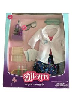 Doll Clothes My life AS SCIENTIST PLAY SET Laboratory Clothe