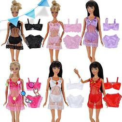 doll clothes sexy pajamas lingerie swimwear lace