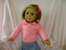 Doll clothes/ HANDMADE Sweater/Fits American Girl 18 inch  D