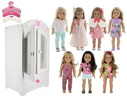 doll dream furniture armoire closet