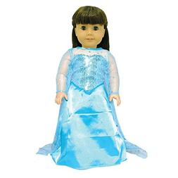 Pink Butterfly Closet Doll Dress - Queen Elsa Inspired Outfi