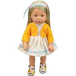 Shero 10 - 14 Inches Baby Doll's Dress One-Piece