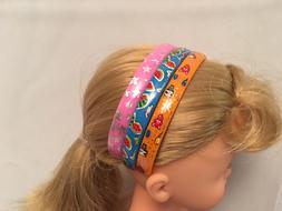 """Doll Headband match w/ clothes Fits 13"""" Corolle Les Cheries"""