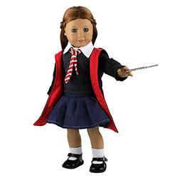 Barwa 18 Inch Doll Clothes Hermione Granger 8 PCS Inspired H