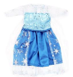 Baby Doll Clothes, AOFUL Long Sleeve Blue Ice Snow Frozen Co