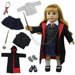 ZITA ELEMENT Doll Clothes - Hermione Granger 8pcs Outfit Hog