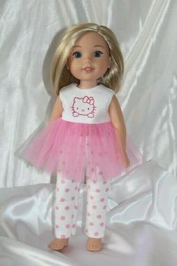 Doll Outfit fits 14 inch American Girl Wellie Wishers Dolls