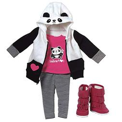 "Adora Amazing Girls 18"" Doll Clothes ""Panda Fun"""