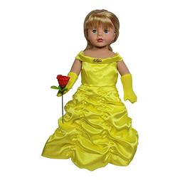 Arianna 18-inch Doll Clothes | Princess Belle complete Inspi