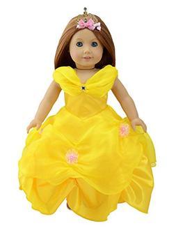 Dreamtoyhouse American Girl Doll Clothes Princess Belle Roya