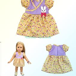 AOFUL Baby Doll Clothes Small Rabbit Decoration Doll Dresses