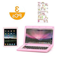 18 Inch Doll Accessories Set - Laptop,Tablet with Unicorn Ra