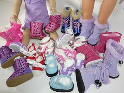 Shoes for 18 inch Dolls YOU CHOOSE fits American Girl Doll B