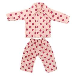 Doll Clothes 2pc Sleepwear Pajamas Fits 18 Inches American G