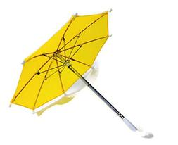 Doll Clothes Umbrella Yellow Fits American Girl Doll and Oth