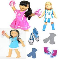 Arianna 18-inch Doll Clothes | Value Bundle -Set of 3 Doll S