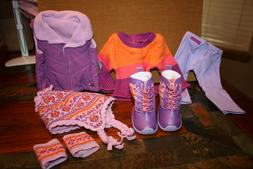 American Girl Doll Warm Winter Outfit AND Warm Winter Access