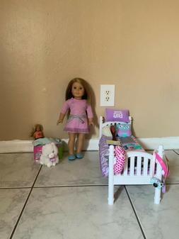 American girl doll With bed and accessories. Truly Me.
