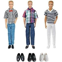 Dolls XADP 3 Sets Fashion Casual Wear Clothes Outfit Pants P