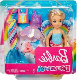 Barbie Dreamtopia Rainbow Cove Chelsea Doll And Fashions Set