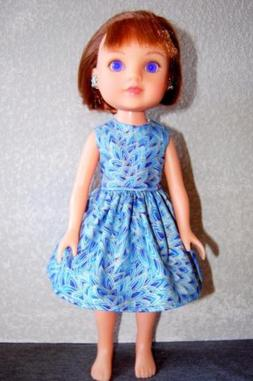 Dress Blue Gold Doll Clothes for Les Cheries H4H Betsy McCal