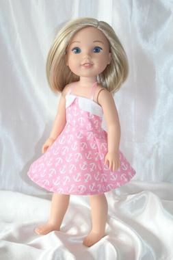 dress fits 14inch american girl wellie wishers