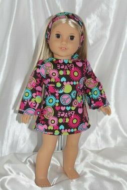 Dress fits 18 inch American Girl Doll Clothes Lot Julie