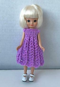 Dress for 8 inch Betsy McCall Tonner Doll Handmade USA Purpl