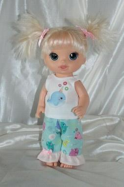Dress Outfit fits 12 inch Baby Alive Doll Clothes Lot Narwha