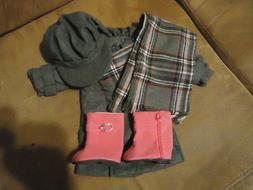 Dress Outfit fits 18 inch American Girl Doll Clothes Wool Co